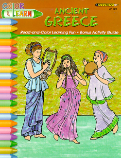 Ancient Greece Coloring book