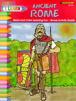 Ancient Rome Coloring Book