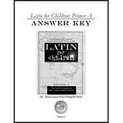 Latin for Children Answer Key