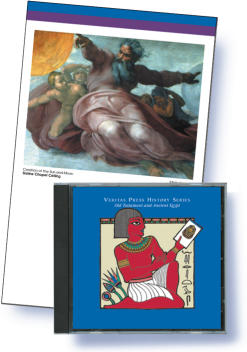 Veritas Press: OT and Ancient Egypt Card and CD
