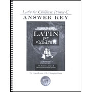 Latin for Children C Answer Key