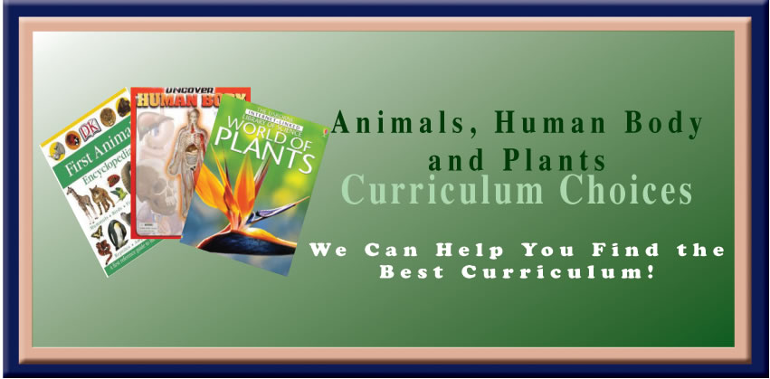 Animals, Human Body, and Plants Curriculum