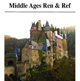 Middle Ages, Renaissance, and Reformation Books
